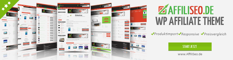 AffiliSeo - Affiliatetheme